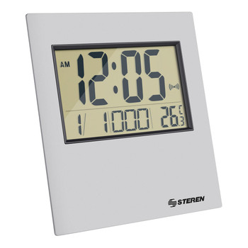 Steren Digital Desk Clock with Thermometer