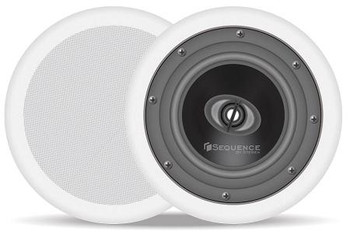 Steren Sequence 6.5in In-Ceiling Speakers Essentials