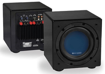 Sequence 8in Front Fire Subwoofer Black