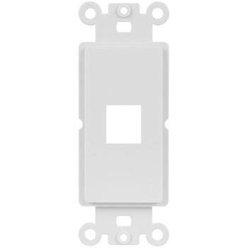 Insert Wallplate Decor 1 Port