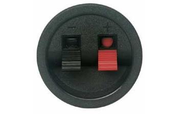 2-Terminal Round Speaker Connector