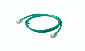 2ft Cat5e Patch Cord Non-Booted UTP cULus Green