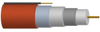 Cable RG6 Single UL CCS w