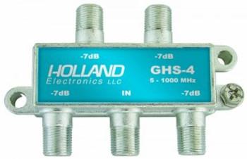 Splitter 4-Way 5-1000 MHz