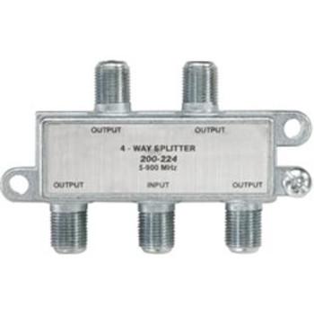 4-Way 900MHz Mini RF Splitter