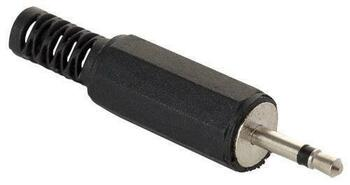 Steren 2.5mm Mono Plug Plastic Handle