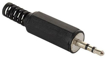 Steren 2.5mm Stereo Plug Plastic Hand