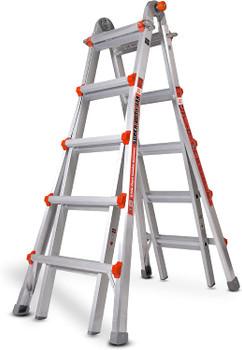 Heavy-Duty  Aluminum Ladder -  Type 1A, 375lbs