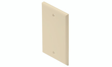 Blank Almond Cover Plate