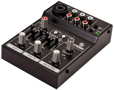 Portable USB 3 Channel Audio Mixer