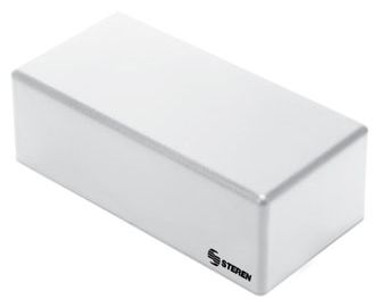 """Steren Plastic Box with Lid for Electronic Projects - 4.9"""" x 2.3"""" x 1.7""""."""