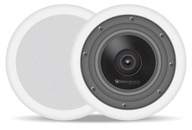 Steren Sequence 6.5in In-Ceiling Stereo Speaker Essentials