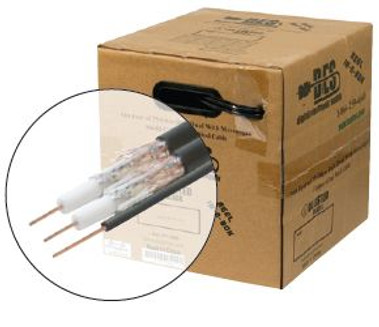 Cable RG6 UL CCS Dual w/Gr