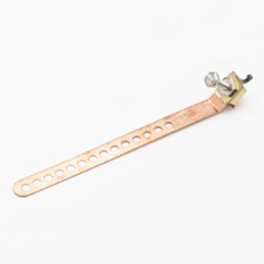 Steren Strap Ground Economy Copper 12in For AWG No.14/12