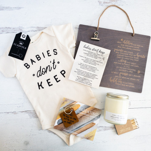 Babies Don't Keep (Breathe Candle)