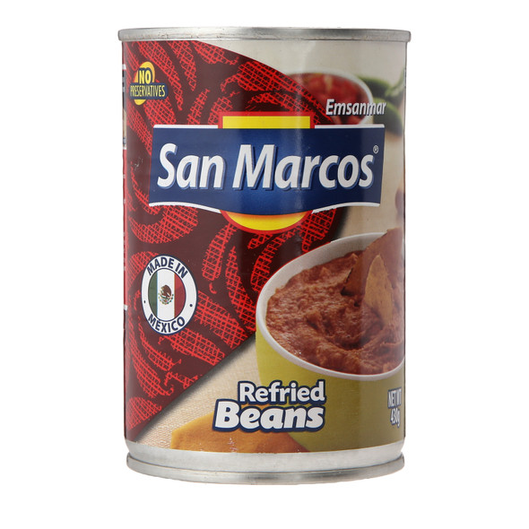 San Marcos Refried Beans, 430g