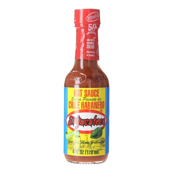 El Yucateco Red Habanero Hot Sauce, 120ml
