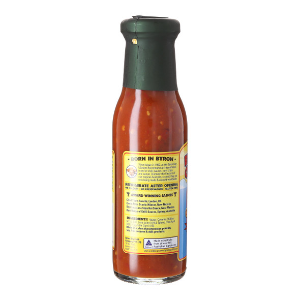 Byron Bay Chilli Co. Red Cayenne, 250ml