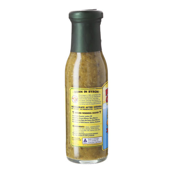 Byron Bay Chilli Co. Green Jalapeno, 250ml