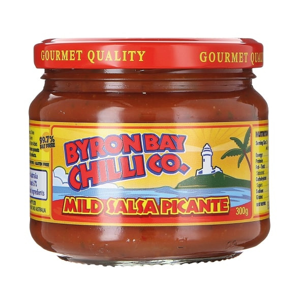 Byron Bay Chilli Co. Mild Salsa Picante, 300g