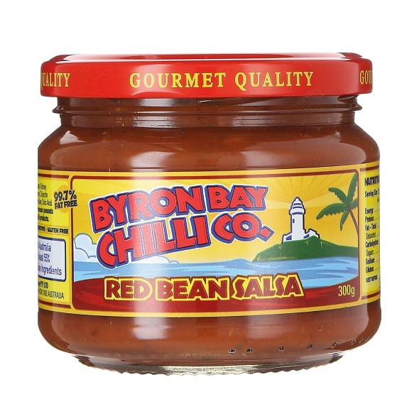 Byron Bay Chilli Co. Red Bean Salsa, 300g