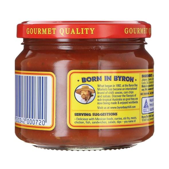 Byron Bay Chilli Co. Spicy Salsa Picante,  300g