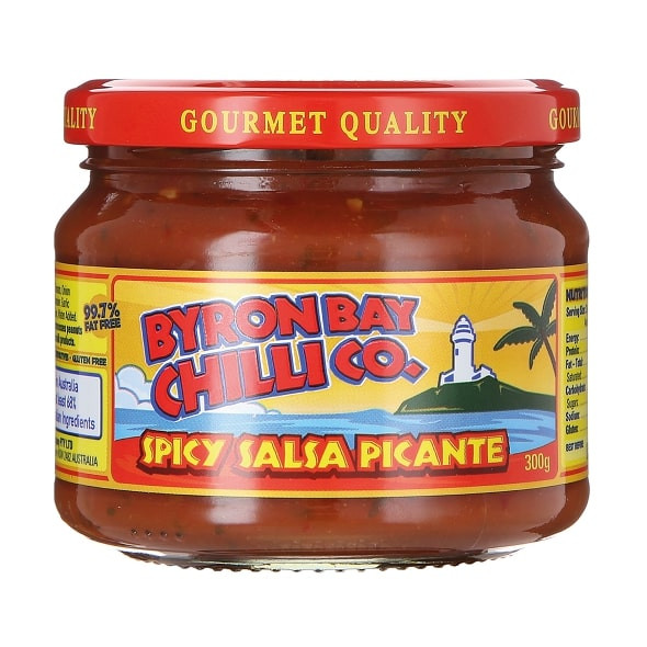 Byron Bay Chilli Co. Spicy Salsa Picante,  300g