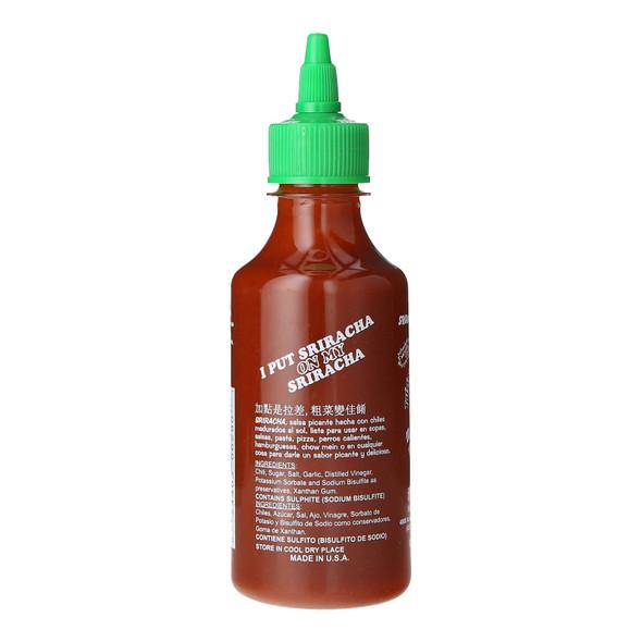 Huy Fong Sriracha Hot Chilli Sauce, 266ml