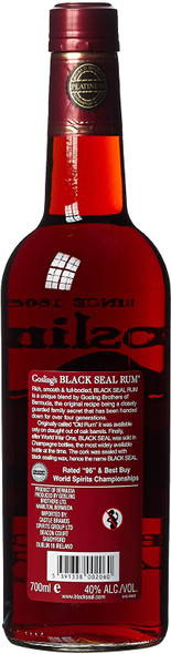 Gosling Black Seal Bermuda Rum, 70cl