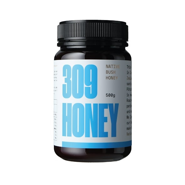 309 Honey Native Bush Honey, 500gm