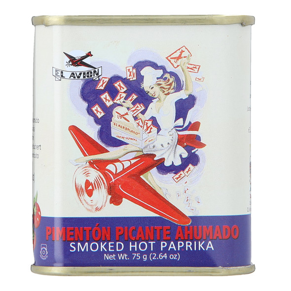 El Avion Smoked Hot Paprika, 75g