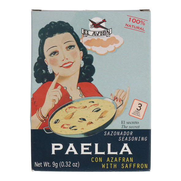 El Avion Paella Seasoning Mix, 9g