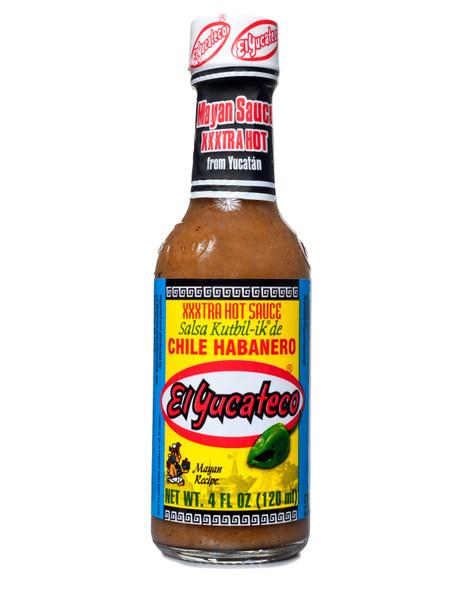 El Yucateco Kutbil-Ik Habanero XXXtra Hot Sauce, 120ml