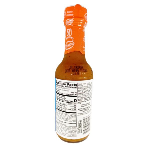 El Yucateco Caribbean Habanero Hot Sauce, 120ml