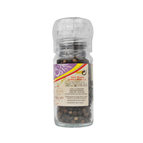 El Avion Black Pepper with Grinder 50g
