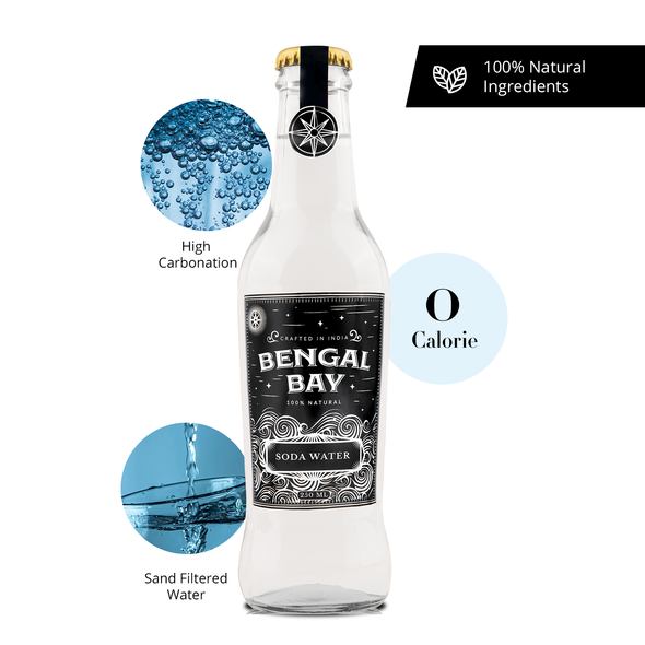 Bengal Bay Sparkling Soda Water, 250ml