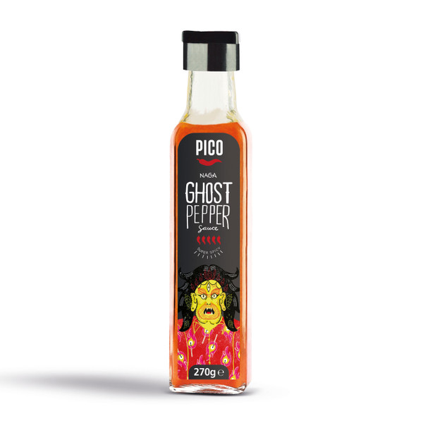 Pico Naga Ghost Pepper Sauce