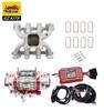 LS1 Carb Intake Kit Edelbrock Victor Jr Intake/MSD 6014 Ignition/Quickfuel Q-750