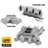 LS1 Carb Intake Kit Edelbrock RPM Intake/MSD 6014 Ignition/Quickfuel Q-750 Carb