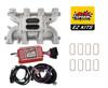 LS Cathedral Carb Conversion Kit - Edelbrock Performer Intake/MSD 6014 Ignition
