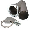 """QTP Quicktime Performance 10300 Stainless Steel Manual Exhaust Cutout - 3.00"""""""