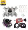 LS1 Carb Intake Kit - Edelbrock RPM Intake/MSD 6014 Ignition/Proform 650 Black Carb