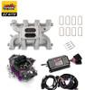 LS1 Carb Intake Kit - Edelbrock RPM Intake/MSD 60143 Ignition/Proform 650 Black Carb