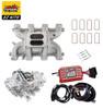 LS1 Carb Intake Kit - Edelbrock RPM Intake/MSD 6014 Ignition/QFT Hot Rod 750 Carb