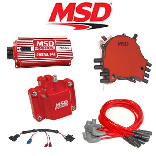 MSD 9032 Ignition Kit Digital 6AL/Distributor/Wires/Coil 92-94 Corvette LT1