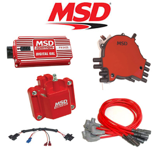 MSD 9033 Ignition Kit Digital 6AL/Distributor/Wires/Coil 95-97 Corvette LT1