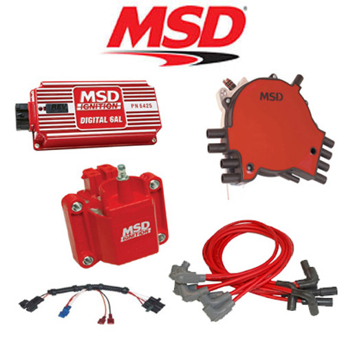 MSD 9035 Ignition Kit Digital 6AL/Distributor/Wire/Coil 95-96 Caprice/Impala LT1