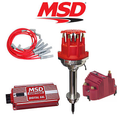 MSD 9103 Ignition Kit Digital 6AL/Distributor/Wires/SS Coil Chrysler 383-400