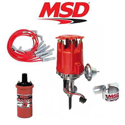 MSD 9909 Ignition Kit Ready to Run Distributor/Wires/Coil Chrysler SB 273-360
