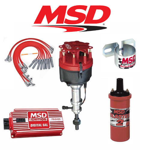 MSD 9015 Ignition Kit - Digital 6AL/Distributor/Wires/Coil/Bracket - Ford 351W